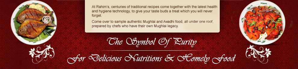 Rahim's Mughlai and Awadhi food in Delhi